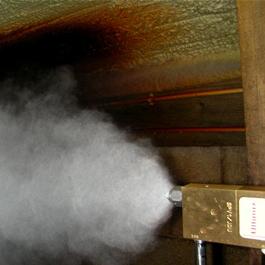 Ultimix Fogging Nozzle, Non-Drip Water Valve